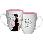 Show Up Coffee Mug