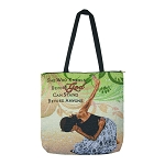 She Who Kneels Before God African American Tapestry Tote Bag
