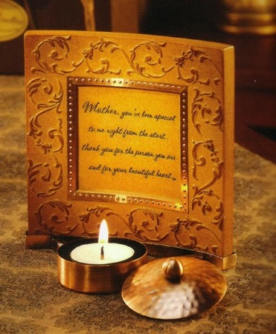 Mother - Comfort Candle Plaque