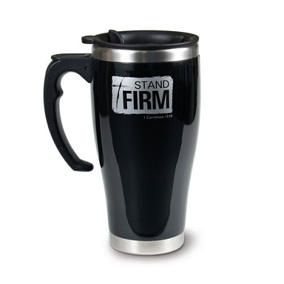 Stand Firm Stainless Handle Mug