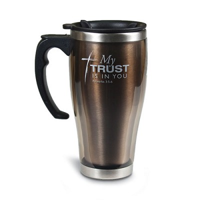 My Trust Is In You  Stainless Steel Handle Mug