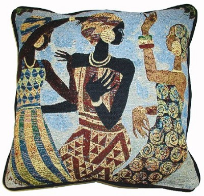 Celebration by Keith Mallett - Tapestry Pillow