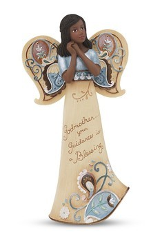 Godmother Ebony Angel Figurine