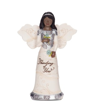 Thinking of You Element Angel Figurine