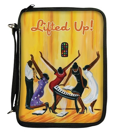 Lifted Up Bible Cover