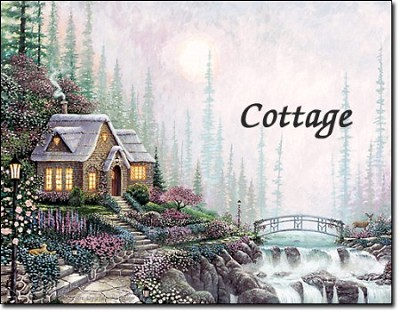 The Cottage-First Name Origin Print