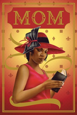 Mom - African American Mother's Day Cards